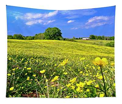 Carpet Of Flowers, Smith Mountain Lake Tapestry