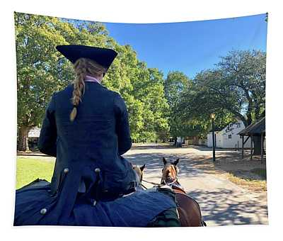 Carriage Ride Tapestry
