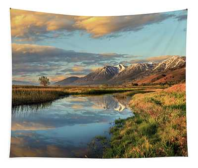 Carson Valley Sunrise Tapestry