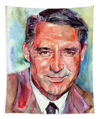Cary Grant Portrait Tapestry