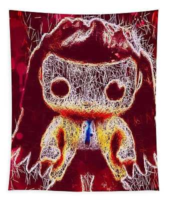 Castiel Supernatural Pop Tapestry