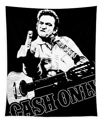 Cash Only Ever Tapestry