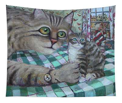 Cat Daddy Tapestry