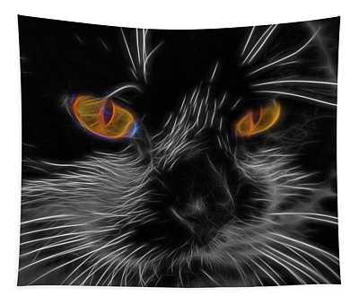 Cat Eyes Tapestry