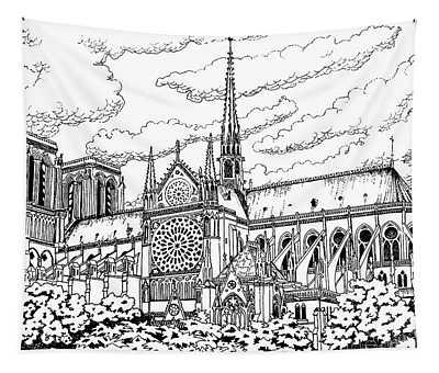 Notre Dame De Paris- Our Lady Of Paris Tapestry