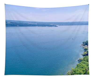 Cayuga From Above Tapestry