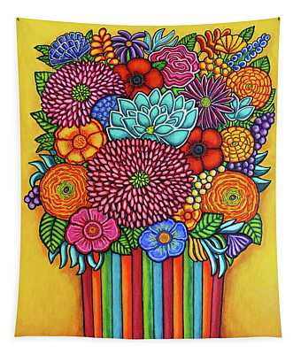 Celebration Bouquet Tapestry