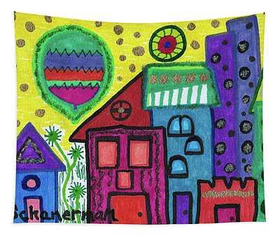 Celebration City Tapestry