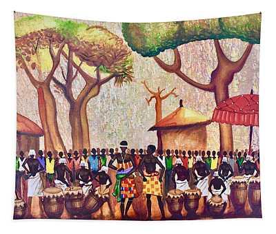 Celebration Drumming - Red Tapestry