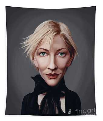 Celebrity Sunday - Cate Blanchett Tapestry