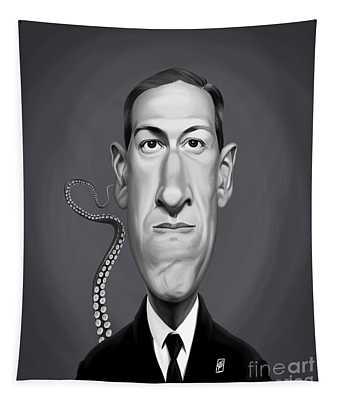Celebrity Sunday - H.p Lovecraft Tapestry