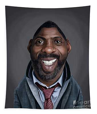Celebrity Sunday - Idris Elba Tapestry