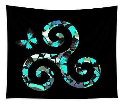 Celtic Spiral 3 Tapestry