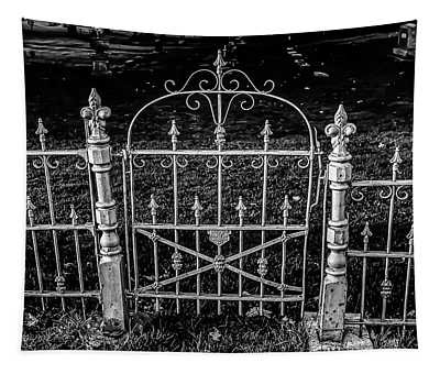 054 - Cemetery Gate Tapestry