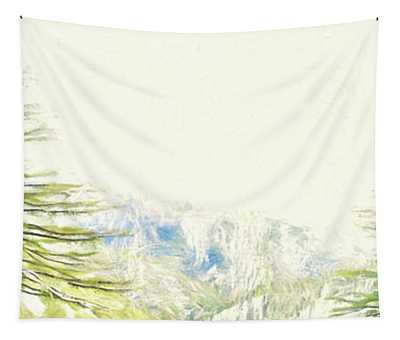 Cezanne Mountains - Spring Tapestry