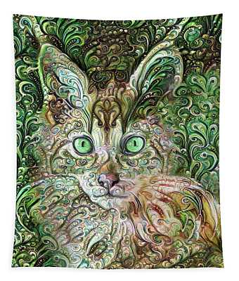 Cha Cha The Maine Coon Cat 1 Tapestry