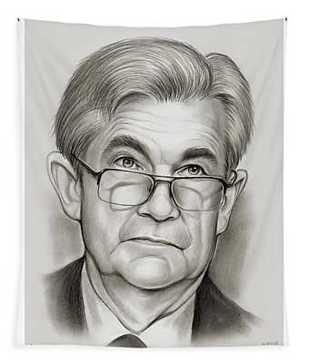 Chairman Powell Tapestry