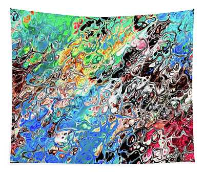 Chaos Abstraction Bright Tapestry
