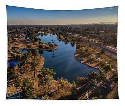 Chaparral Lake Tapestry