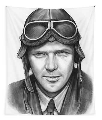 Charles Lindbergh Tapestry