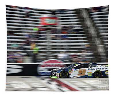 Chase Elliott Crossing The Finish Line At T M S Tapestry