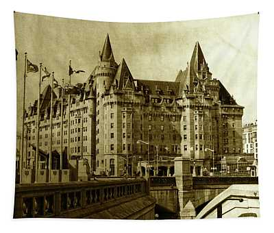 Chateau Laurier - A Century Of Existence Tapestry