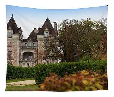 Chateau, Near Beynac, France Tapestry