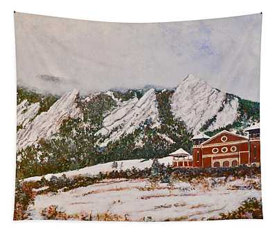 Chautauqua - Winter, Late Afternoon Tapestry