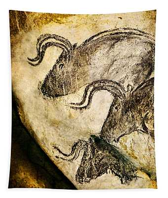 Chauvet - Three Aurochs Tapestry