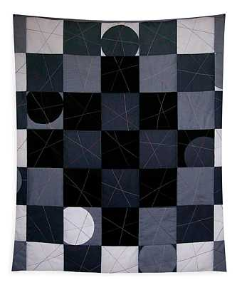 Checkers And Pick-up-sticks Tapestry