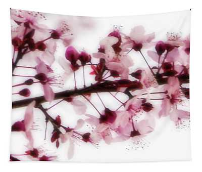 Cherry Triptych Center Panel Tapestry