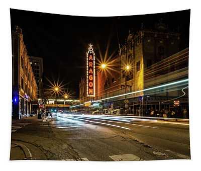 Chicago's Aragon Ballroom Time Exposure Tapestry