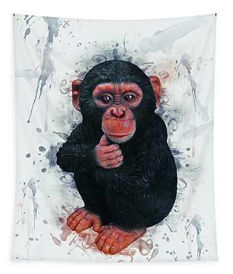 Designs Similar to Chimpanzee Art by Ian Mitchell