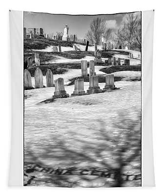 China Cemetery Tapestry
