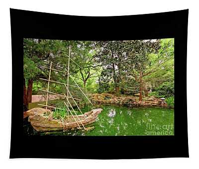 Chinese Stone Ship Tapestry