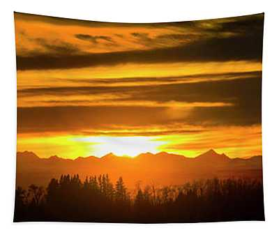 Chinook Sunset Tapestry