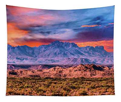 Chis Mountain Range Tapestry