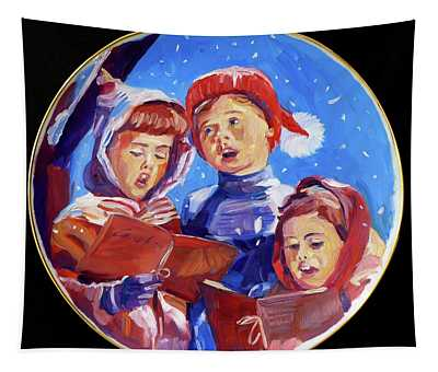 Christmas Carolers  Tapestry