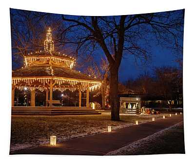 Christmas Eve In Dexter Tapestry