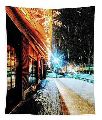 Christmas In Piermont Tapestry