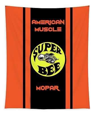 Chrysler Dodge Super Bee Tapestry
