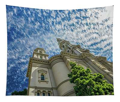 church in Sacramento - i thought it was legos  Tapestry