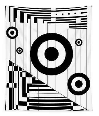 Circular Circles  Tapestry
