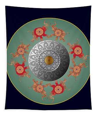 Circumplexical No 3667 Tapestry