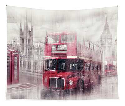 City-art London Westminster Collage II Tapestry