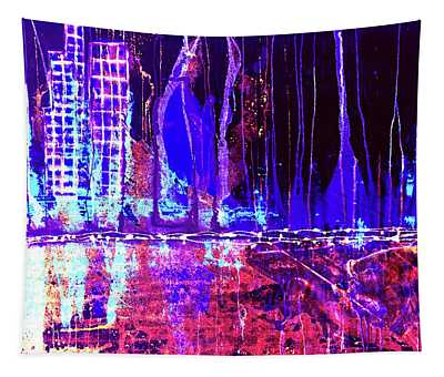 City By The Sea Right Tapestry