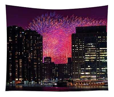 City Fireworks Tapestry