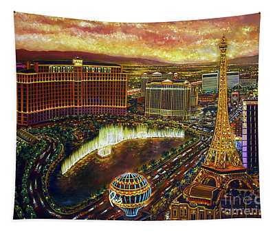 City Of Gold Tapestry