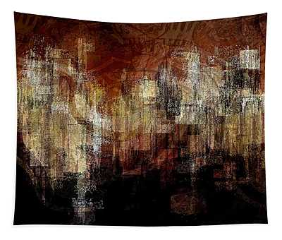 City On The Edge Tapestry