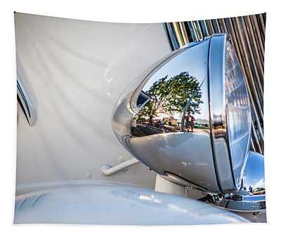 Classic Car Headlight Tapestry